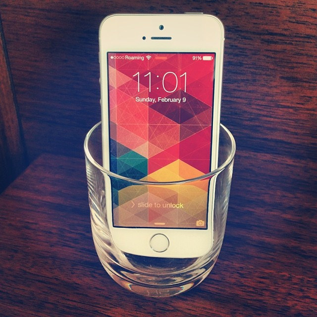 Glass as a Phone Speaker